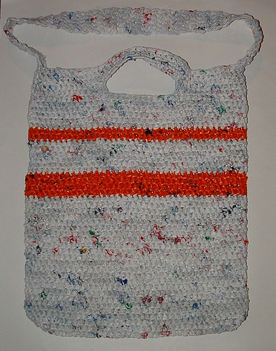 Dual Handled Plarn Tote Bag