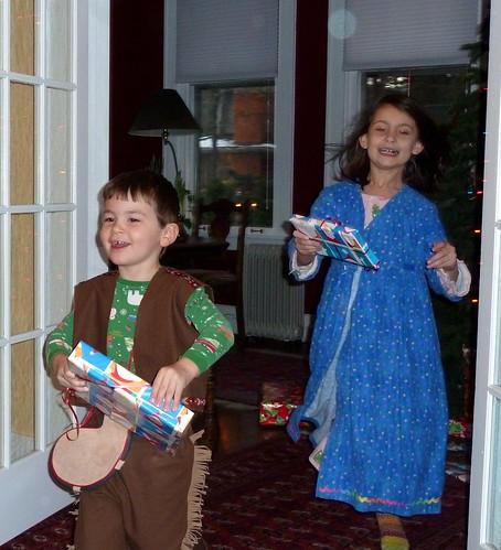 Ezra & Louise, Xmas 2010.