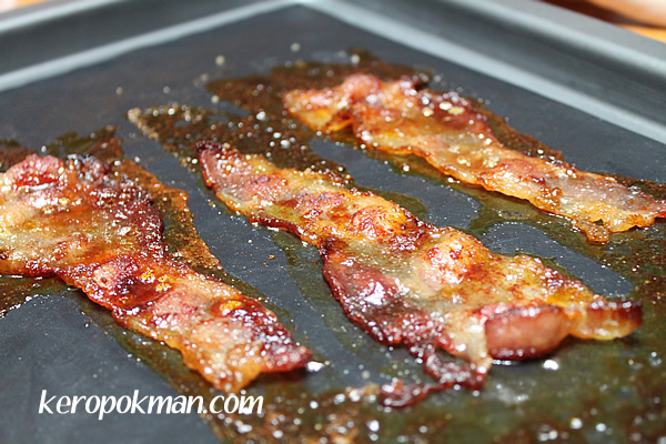 Brown Sugar and Paprika Streaky Bacon - Ang Moh Bak Kwa