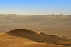 Blowing sand- Explore Front Page (TARIQ-M) Tags: texture landscape sand waves desert ripple dunes ripples riyadh saudiarabia hdr app      canonef70200mmf4lusm   canon400d      sandflows  sandblowing  tariqm   tariqalmutlaq kingofdesert 100606169424624226321postsnajd12sa