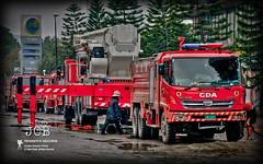 Fire Fighters  [On The JOB] (Fotorix Studio) Tags: pakistan shopping fire shoppingcenter punjab firefighters cda islamabad beverlycenter rawalpindi bluearea pakistanpunjab jinnahavenue waleedirfan cdaislamabad