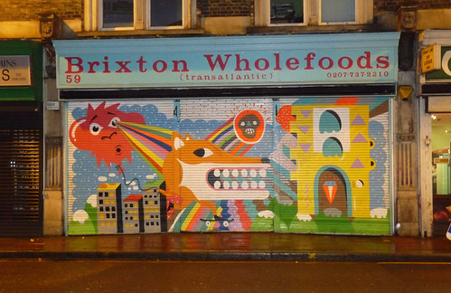 BRIXTON WHOLEFOODS WHOLE SHUTTER!