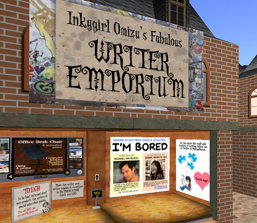 Inkygirl Omizu's Fabulous Writer Emporium