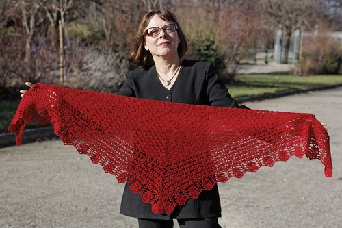 Fancy Fan Shawl