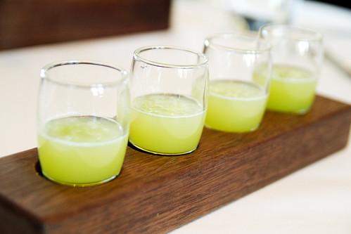 Apple celery juice