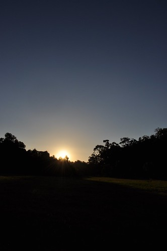 Sunset at Cardinia Reservoir
