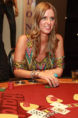 Nicky Hilton plays blackjack at the new Hard Rock Caf at Seminole Hard Rock Hotel & Casino Tampa (Seminole Hard Rock Hotel & Casino - Tampa) Tags: tampabay casino styx hardrock hardrockcafe hardrockcasino nickyhilton joeyfatone alilandry tommyshaw samantharonson stephaniepratt djsamantharonson seminolehardrocktampa