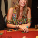 Nicky Hilton plays blackjack at the new Hard Rock Café at Seminole Hard Rock Hotel & Casino Tampa