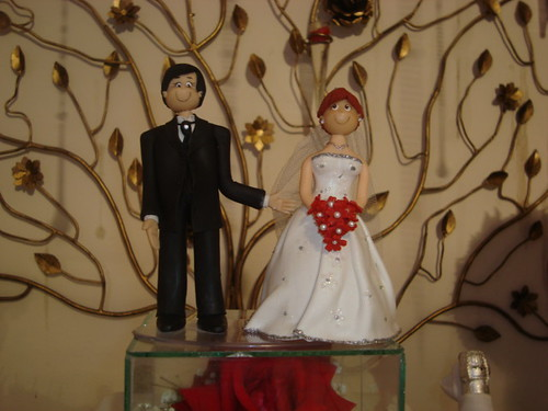Parte da decoração - Casamento do meu irmão