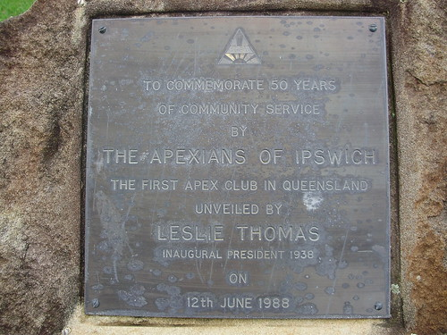 Ipswich Apex Plaque