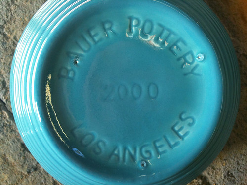 Bauer 2000 Mixing Bowl Bottom Mark
