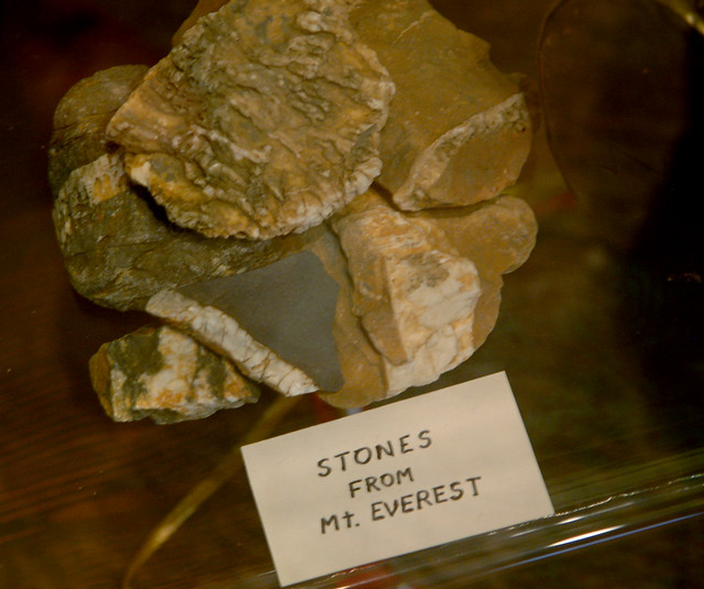 Stones from Mt. Everest