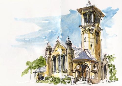 110122 Sketchcrawl 30_11 St Andrews