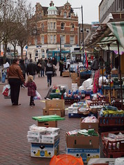 Saturday market High St Gillingham (Simon Bolton UK) Tags: kent medway gillingham gillinghamhighst gettyimagesuklocation