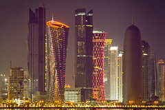 Qatar National Day Skyline II
