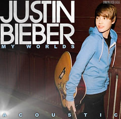 Justin Bieber - My Worlds Acoustic (Dwayneex3) Tags: world christmas justin tree girl up 1 montana you guitar spears hannah cant collection giving latin worlds be acoustic 20 britney tamed 2010 bieber 2011