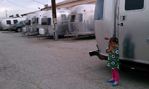 Look at all the Airstreams.