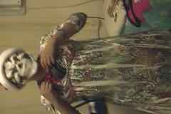 crazy guy dancing (jonahpenta) Tags: guy halloween crazy dancing crossdressing teen shake