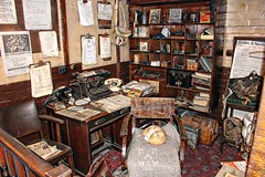 1940's office (Lazenby43) Tags: railway great 1940's