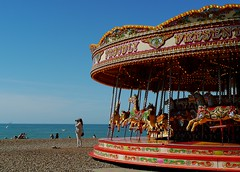 The Gallop acus Islands (Grooover) Tags: horses fairground ride gallop beach brighton sussex grooover