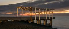 Sun catcher (lizcaldwell72) Tags: hawkesbay sunrise napier water napierveiwingplatform sky clouds newzealand light