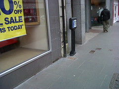 Borne Infomaster (Glasdon Europe Sarl) Tags: glasdon glasdonfr infomaster borneinfomaster bornes parkings traficpotelets trafic