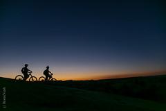 Slick Rock Sunset (Ronia Nash) Tags: slickrock utah mountainbikes moab sunset