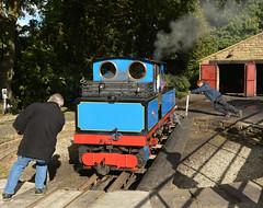 Push Pull Working (Feversham Media) Tags: kirkleeslightrailway kirklees yorkshire claytonwest hawk klr westyorkshire narrowgaugerailways claytonwestbranch steamlocomotives