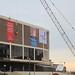 Philadelphia Spectrum demolition: before the crane.