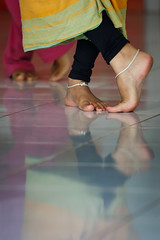 Fancy footwork (yipe) Tags: bali feet indonesia foot dance indian dancer class orissa anklet odissi