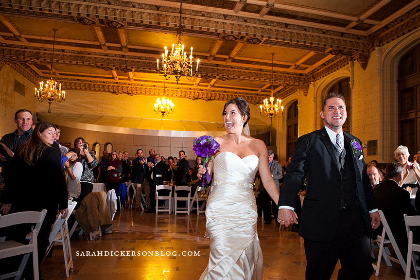 Sawyer Room Kansas City wedding reception photography