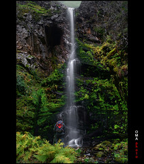 Fascinated with paradise. / Fascinado con el paraso. (OMA photo) Tags: espaa waterfall paradise leon paraiso cascada fascinated elbierzo fascinado carracedodecompludo
