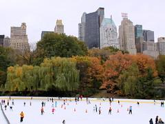 wollman rink (3) (kexi) Tags: autumn trees panorama usa ny newyork fall colors skyline america canon october skyscrapers many centralpark manhattan skating skaters rink 2009 skatingrink wollmanrink instantfave platinumphoto