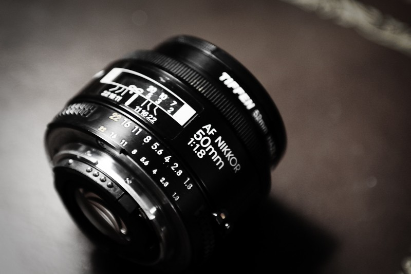 The 50mm f1.8