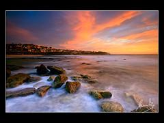 5 seconds of magic Bronte Beach (sachman75) Tags: longexposure morning light beach clouds sunrise dawn coast rocks sydney australia wideangle coastal nsw 1740mm brontebeach easternsuburbs leefilters 5dmark2 canon5dmarkii gradnd3stop