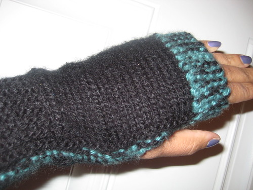 Fingerless Mitts 11-29-10