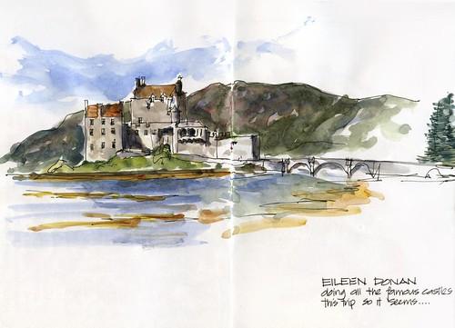 0830 MO_02 Eileen Donan Castle