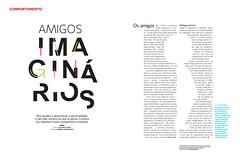 Amigos imaginários (Gabriel Gianordoli) Tags: magazine design friend editorial imaginary
