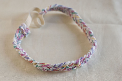 woven headband on white 2