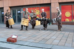 music in progress (acinorev79) Tags: drums scotland europa europe kilt glasgow musica bagpipe scozia tamburi cornamuse