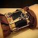 336/365: Steampunk Atropos Cuff Bracelet
