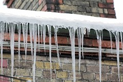 when icicles hang by the wall (Brenda Malloy) Tags: ireland dublin snow storm freeze brenda malloy stoneybatter canon450 brendamalloy diogenes24