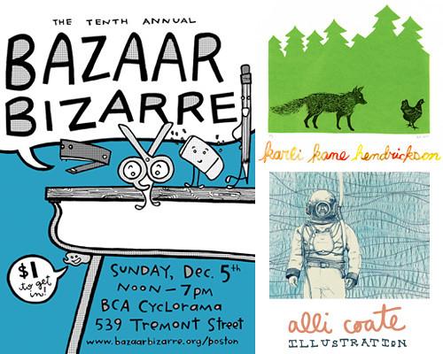 Bazaar Bizarre Boston!