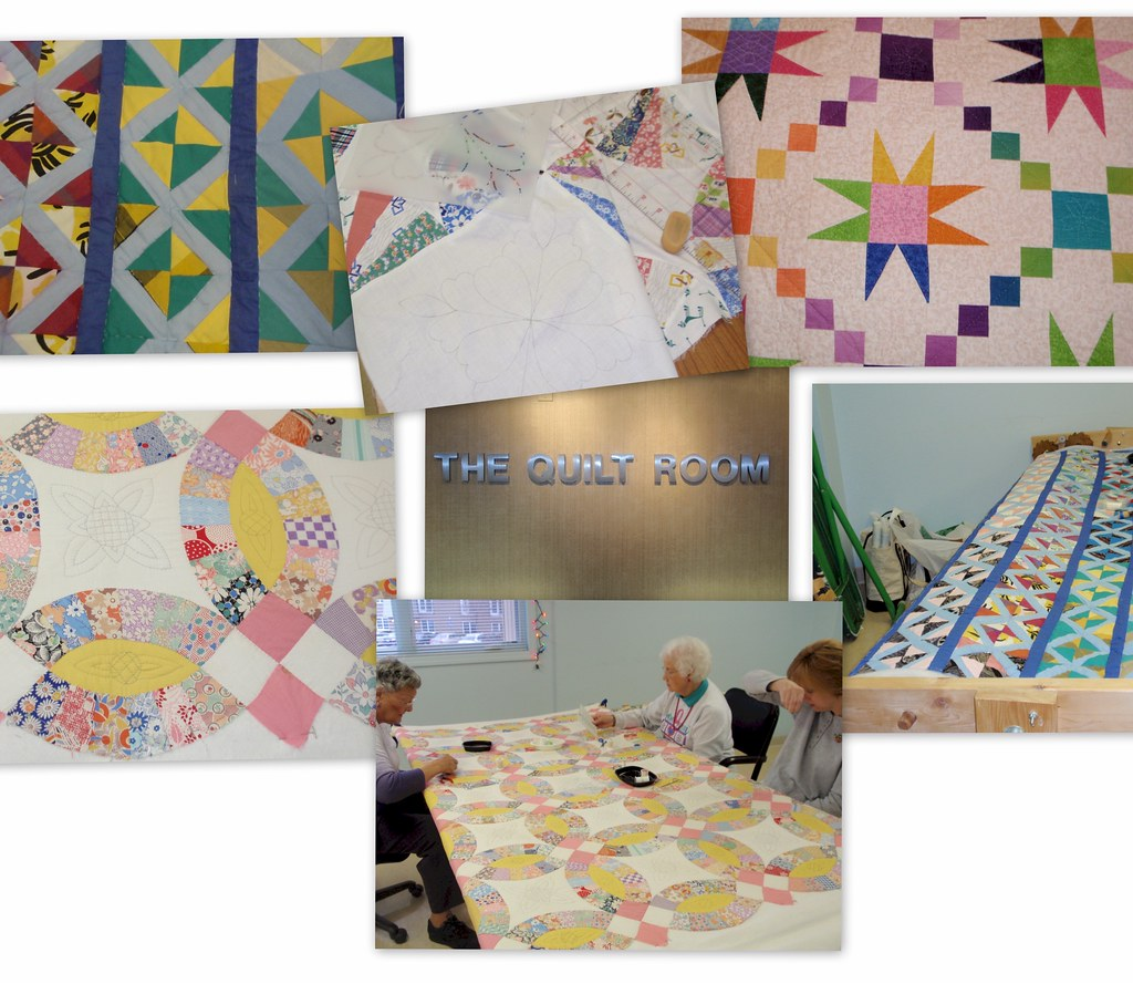 Quilt Room Auxiliary Volunteers - Can always use another Quilter or Wanabe