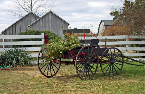 holly wagon at Dr. Mudd House