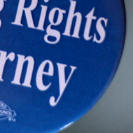 Florida Voting Rights Attorney button