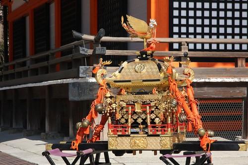 かわいい神輿 / Yasaka Shrine