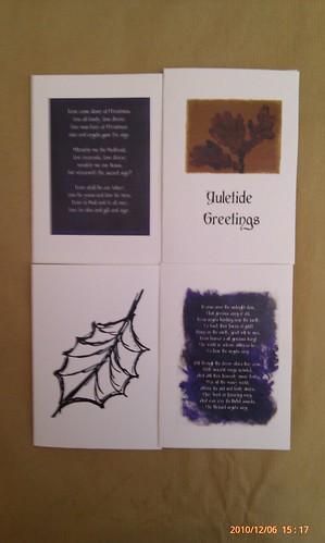 Christmas cards, 2010