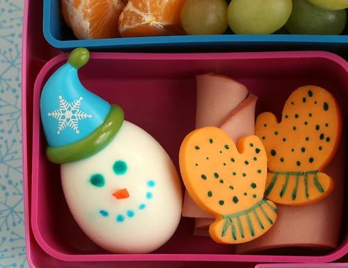 snowman egg