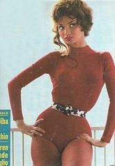 cuban burlesque dancer, Chelo Alonso. (psychosurplus) Tags: